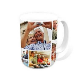 Photo Montage Mug, Photo Collage Mug, Personalised Photo Mug, Photo Mugs, Mug With Photos
